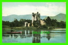 KILLARNEY, IRLANDE - ROSS CASTLE - ANIMATED FISHERS -  LAWRENCE, PUBLISHER - - Kerry
