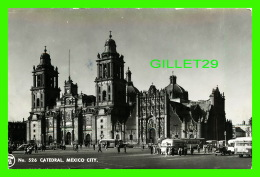 MEXICO - CATHEDRAL, MEXICO CITY - ANIMATED WITH BUSSES & PEOPLES - - Mexique