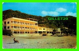 MEXICO - TROPICANA HOTEL UNIQUE - IMPRESO OF THE BEACH IN MEXICO - TRAVEL IN 1962 - Mexique