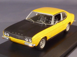 Maxichamps 940085800, Ford Capri MkI RS, 1969, 1:43 - Voitures, Camions, Bus