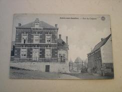 CPA - SOLRE SUR SAMBRE ( ERQUELINNES MERBES ) - RUE DU CHATEAU ( 1920 ) - Erquelinnes