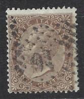 Italia - 1863/65 - Usato/used - Vittorio Emanuele II - Sass N. 19 - 1861-78 Vittorio Emanuele II