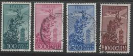 Italia - 1948 - Usato/used - Posta Aerea - Mi N. 763/66 - 6. 1946-.. Republic