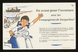 Buvard - Les Compagnons De JACQUELINE - Buvards, Protège-cahiers Illustrés