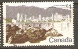 Canada 1972 SG 709a Vancouver Fine Used - Oblitérés