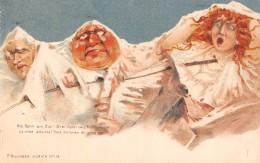 Illustrateur  Suisse  Killinger Surréalisme . Die Bahm Am Ziel .La Cime Atteinte. Trois Victimes Du Progrès - Illustrateurs & Photographes
