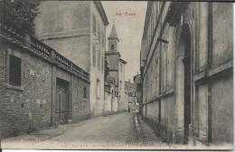 CP - 81 - Lavaur  Rue De La Mairie Ecole Supérieure De Garçons - Lavaur