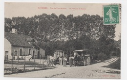10 AUBE - SAVIERES Vue De Port-Arthus, Le Pont De La Seine, Marchand Ambulant - France
