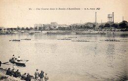CPA ASNIERES - UNE COURSE DANS LE BASSIN D'ASNIERES - Asnieres Sur Seine