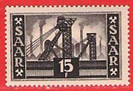MiNr.327 Xx Deutschland Saarland (1946-1949) - Unused Stamps