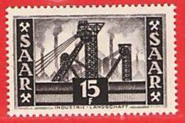 MiNr.328 Xx Deutschland Saarland (1946-1949) - Unused Stamps