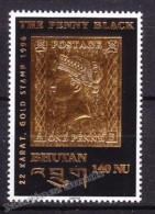 Bhutan - Bhoutan 1996 Yvert 1129, The Penny Black - MNH - Bhoutan
