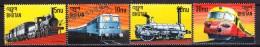 Bhutan - Bhoutan 1999 Yvert 1291, World Trains - Locomotives - MNH - Bhoutan