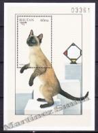Bhutan - Bhoutan 1997 Yvert BF 357, Fauna - Cats - Miniature Sheet - MNH - Bhután
