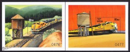 Bhutan - Bhoutan 1999 Yvert BF 370- 71, World Trains - Locomotives - Miniature Sheet - MNH - Bhutan
