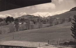 MONT BLANC - MEGEVE-SAINT GERVAIS LES BAINS -MONT JOLY - VUE DE L'ALPE FLEURIE-  PHOTO 1955-11X7 Cms - Lieux