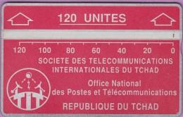 TCHAD 6e °° 120 Unités Rosée - Verso Inversé 506A14271 **  LUXE - Tschad