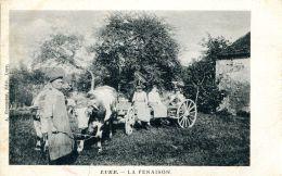 N°33186 -cpa Lure -la Fenaison- RRR- - Cultures