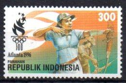 INDONESIE   N° 1451   * *    JO  1996 Tir A L Arc - Boogschieten