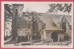 29 - TREGOUREZ-L'Eglise---cpsm Pf - France