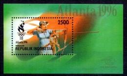 INDONESIE  BF 103   * *  ( Cote 4e )  JO  1996 Tir A L Arc - Bogenschiessen