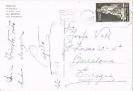 20482. Postal TRIESTE (italia) 1959 A Barcelona. Vista General - 1946-60: Marcofilia