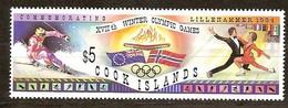 Cook Islands 1994 Yvertn° 1093 *** MNH  Cote 12,00 Euro Sport Lillehammer - Cook