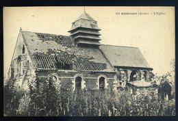 Cpa Du 02  Abbécourt  L' église   JIP97 - France