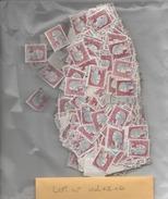 MARIANNE DE DECARIS N°1263.LOT DE 1450 TIMBRES OBLITERES - 1960 Maríanne De Decaris