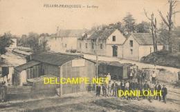 51 // VILLERS FRANQUEUX      La Gare   ANIMEE - France