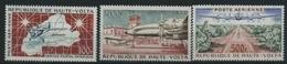 1961 Alto Volta, Posta Aerea , Serie Completa Nuova (**) - Alto Volta (1958-1984)