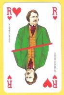 Roi De Coeur Balzac - Verso Le Club - Cartes à Jouer Classiques