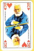 Roi De Coeur Victor Hugo - Verso Le Grand Livre Du Mois - Cartes à Jouer Classiques