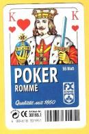 Poker Rommé Roi De Coeur F.X. Schmid Munchen - Cartes à Jouer Classiques