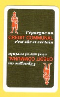 Pub Crédit Communal (banque) - Cartes à Jouer Classiques