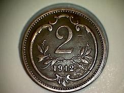 Autriche 2 Heller 1912 - Autriche