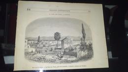 Affiche (gravure) - Une Vue D'ATHENES, Près De La Citadelle, La Tour Des Vents - Affiches