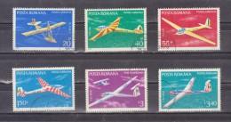 1977 - Planeurs Michel No 3411/3416 Et Yv No P.A. 245/250 - 1948-.... Repúblicas
