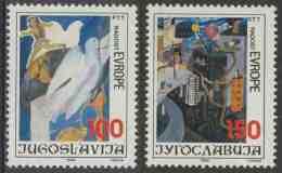 Jugoslavija Yugoslavia 1986 Mi 2194 /5 YT 2073 /4 ** Children´s Paintings / Kinderzeichnungen / Dessin D´enfants