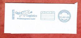 Ausschnitt, Quick Logistics Briefmanagement, Logistikzentrum Boeblingen 2009 (33960) - Privées & Locales