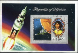 Liberia Nicholas Copernicus, Space Exploration Astronomy Used Cancelled Block M/S (U-65)
