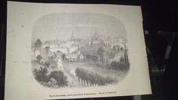 Affiche (gravure) - Vue Du Luxembourg, Dans Le Grand Duché Du Luxembourg........... - Affiches