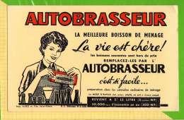 BUVARD & Blotting Paper : La Boisson De Menage AUTOBRASSEUR - Liquor & Beer