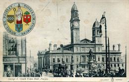 RENFREW - PAISLEY - GEORGE A CLARK TOWN HALL 1911 Ren14 - Renfrewshire