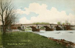 RENFREW - STONE BRIG 1920  Ren15 - Renfrewshire