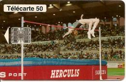 CARTE°-PUBLIC-MONACO-MF30-50U-SC7-07/94-HERCULIS94-V° N° Série C47045823-UTILISE-TBE - Monaco