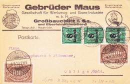 Karte Von 1923 - Germany