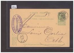 BELGIQUE - GANZSACHE - CARTE ENTIER POSTAL - Stamped Stationery