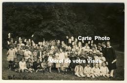 Carte Photo  - Colonie De Vacances Marie-Thérèse à Eslettes - Datée 1928 Verso - 2 Scans - Altri Comuni