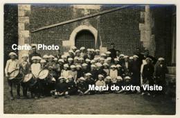 Carte Photo  - Colonie De Vacances Marie-Thérèse à Eslettes - 2 Scans - Altri Comuni